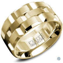 Carlex Gold Men's Wedding Band