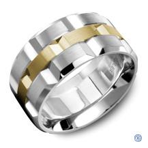 Carlex Gold Men's Wedding Band