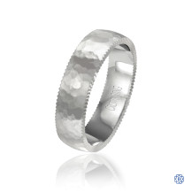 CrownRing Gold Wedding Band