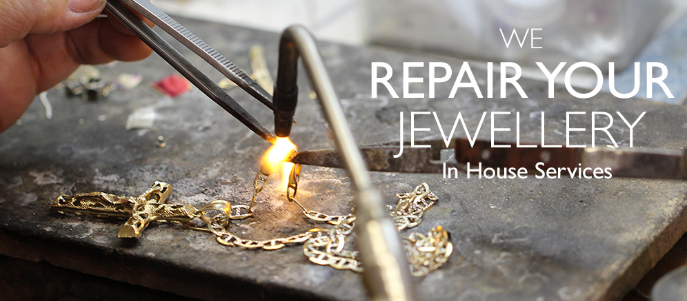 We repair jewellery